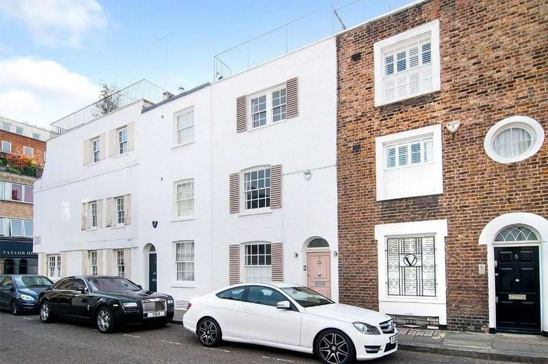 3 Bedrooms Terraced House for sale in Rutland Street, London SW7