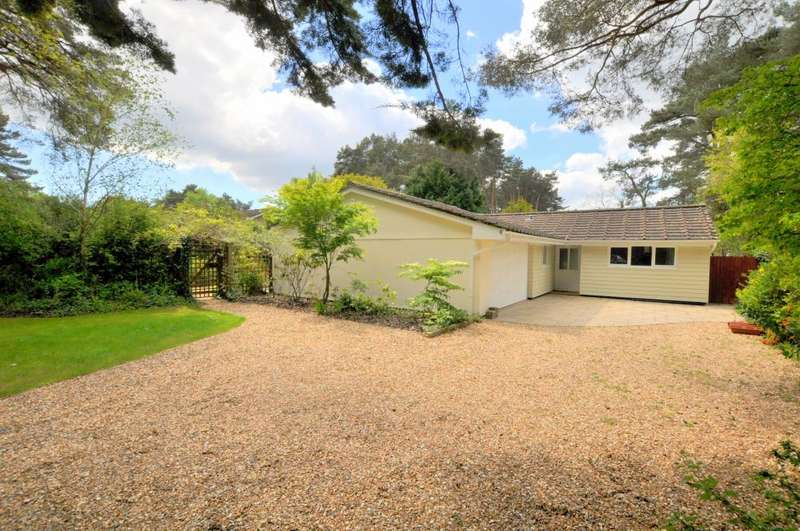 5 Bedrooms Bungalow for sale in Ashley Heath, Ringwood, BH24 2JL