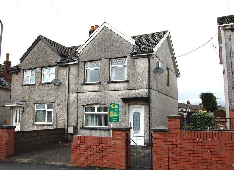 2 Bedrooms Semi Detached House for sale in Central Avenue, Cefn Fforest, Blackwood