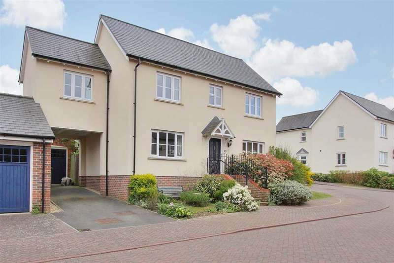 4 Bedrooms Link Detached House for sale in Modern Four Bedroom Family Home in Overton