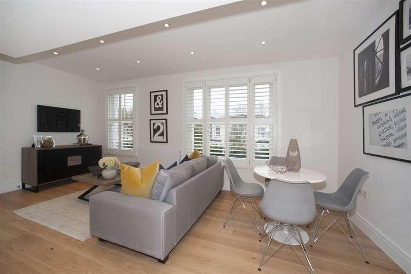 2 Bedrooms Maisonette Flat for sale in Cathnor Road, Shepherd's Bush