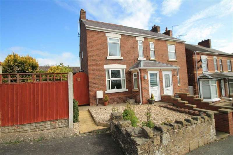 3 Bedrooms Semi Detached House for sale in Tanyfron Road, Tanyfron, Wrexham