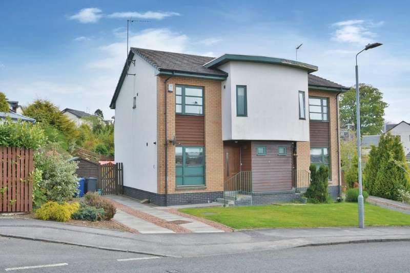3 Bedrooms Semi Detached House for sale in 18 Mansefield Road, Lochwinnoch, PA12 4BL