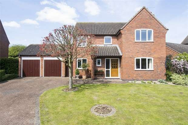 4 Bedrooms Detached House for sale in Bridgewater Drive, Great Glen, Leicester