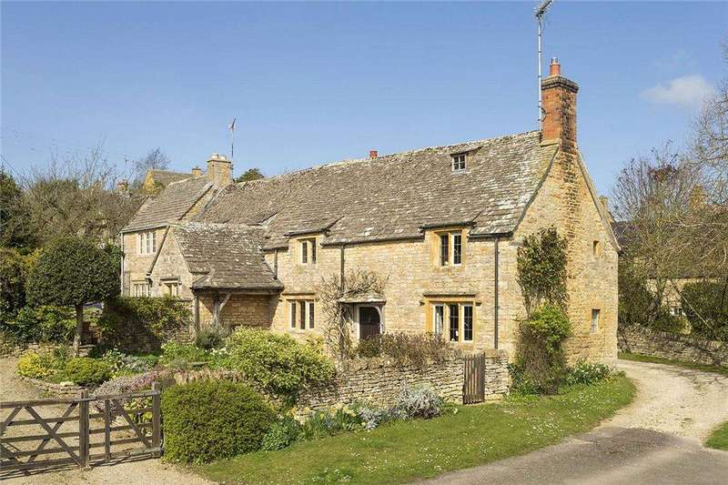 4 Bedrooms Detached House for sale in High Street, Longborough, Gloucestershire, GL56