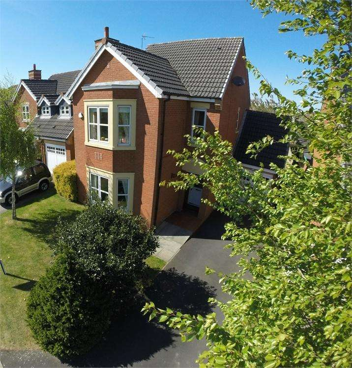 4 Bedrooms Detached House for sale in Celandine Way, New Bold, ST HELENS, Merseyside