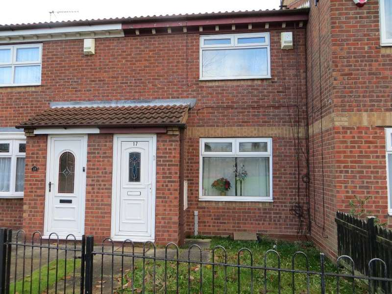 2 Bedrooms Terraced House for sale in Hampstead Court, Hull, HU3 1UF