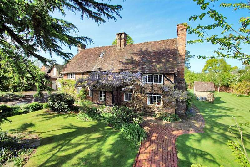 5 Bedrooms Detached House for sale in Red Lane, Limpsfield, Oxted, Surrey, RH8