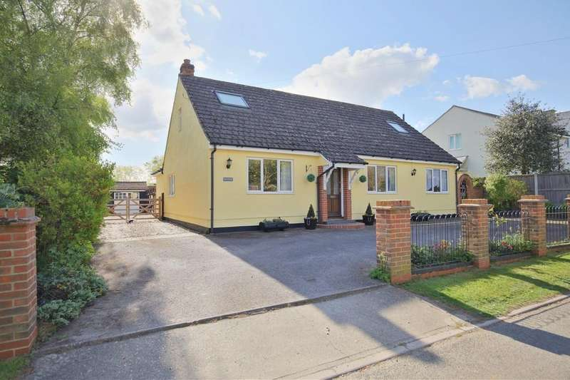 4 Bedrooms Detached Bungalow for sale in Church Green, Little Yeldham