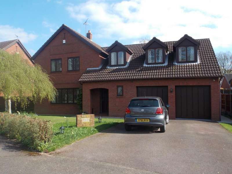 4 Bedrooms Detached House for sale in Rose Hill Court, Bessacarr