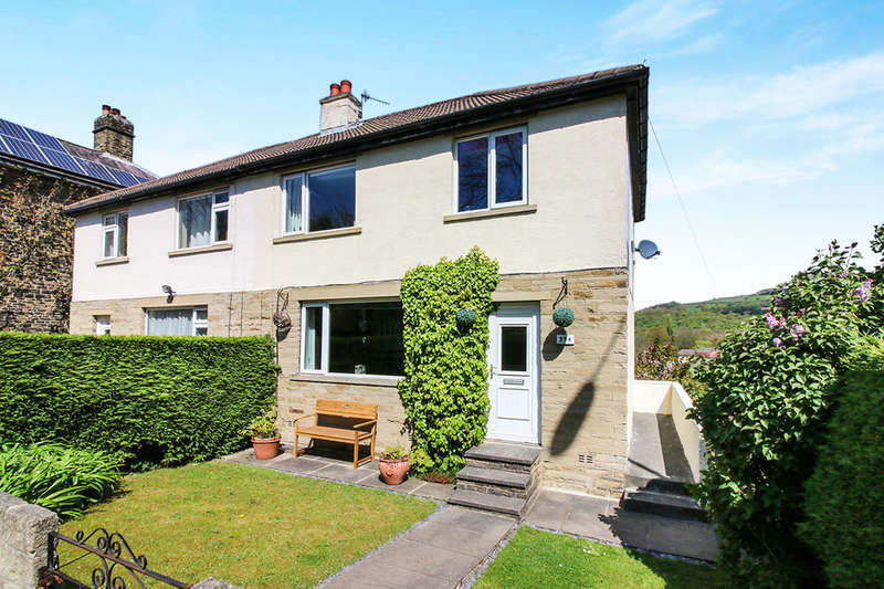 3 Bedrooms Semi Detached House for sale in Skipton Road, Keighley, BD20