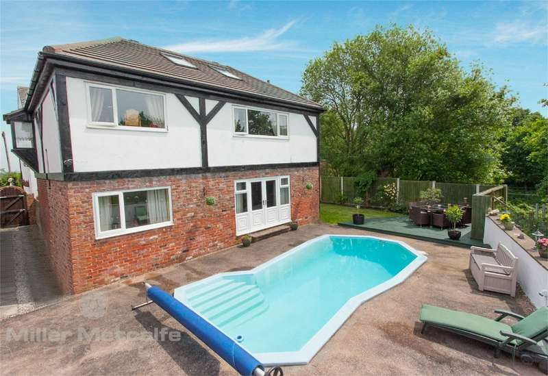 4 Bedrooms Detached House for sale in Wilton Lane, Culcheth, Warrington, Cheshire