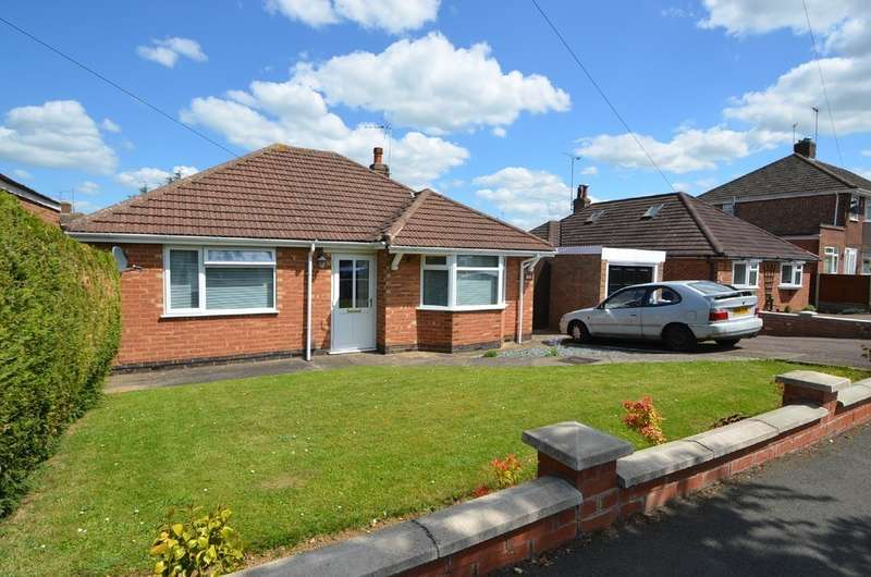 2 Bedrooms Detached Bungalow for sale in Fleet Crescent, Hillmorton, Rugby