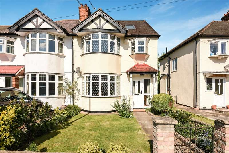 5 Bedrooms Semi Detached House for sale in Cannon Lane, Pinner, Middlesex, HA5