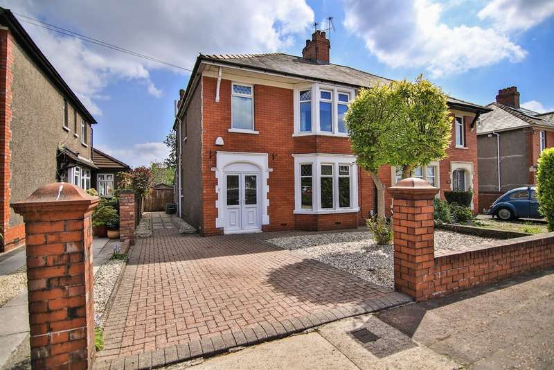 3 Bedrooms Semi Detached House for sale in Heath Park Avenue, Heath, Cardiff