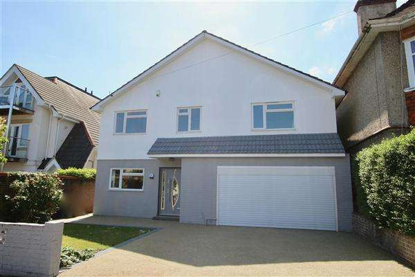 5 Bedrooms Detached House for sale in Queens Park Road, Bournemouth