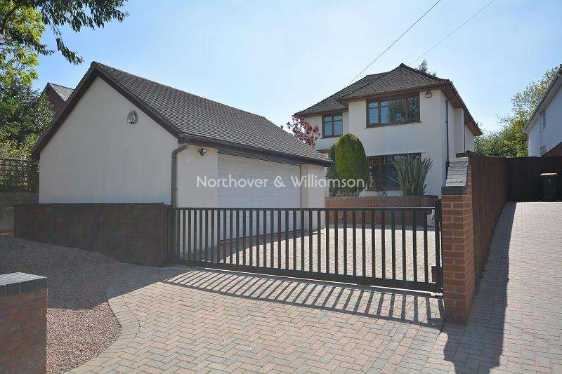 4 Bedrooms Detached House for sale in Marshfield Road, Castleton, Cardiff. CF3