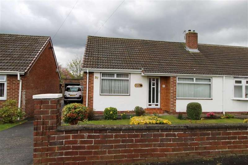 2 Bedrooms Semi Detached Bungalow for sale in Leander Avenue, Chester Le Street, County Durham