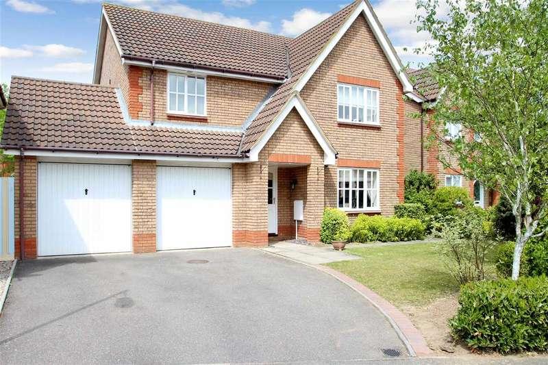 4 Bedrooms Detached House for sale in Howlett Close, Grange Farm, Kesgrave, Ipswich