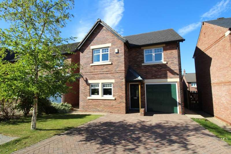 4 Bedrooms Detached House for sale in Siskin Court, Carlisle, CA2