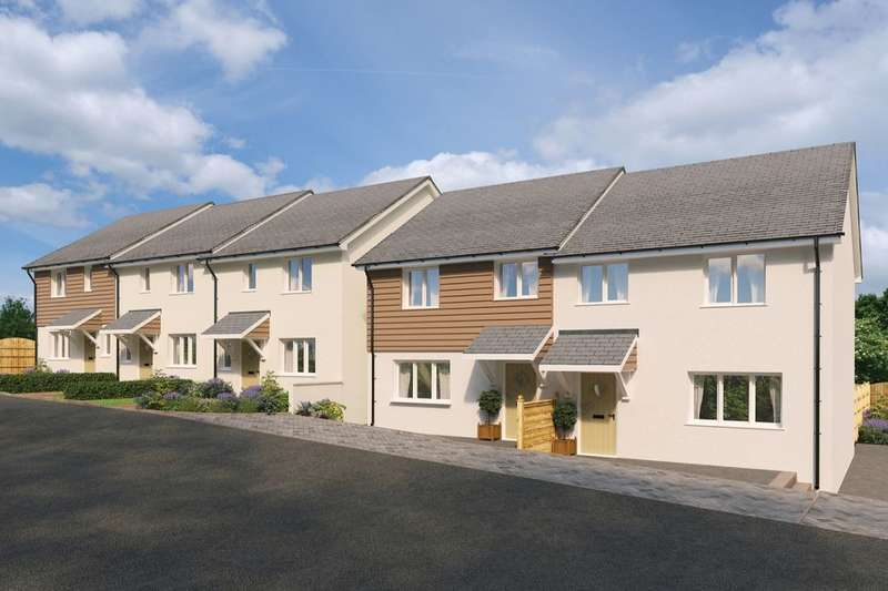3 Bedrooms Semi Detached House for sale in The Boscowen Parc-An-Bre Drive, St. Dennis, St. Austell, PL26