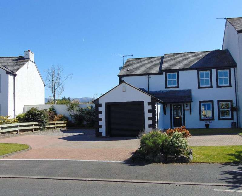 3 Bedrooms Semi Detached House for sale in 33 Derwentside Gardens, Cockermouth, CA13 0JF