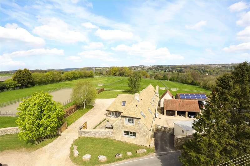 4 Bedrooms Detached House for sale in Nr Minchinhampton, Stroud, Gloucestershire, GL6