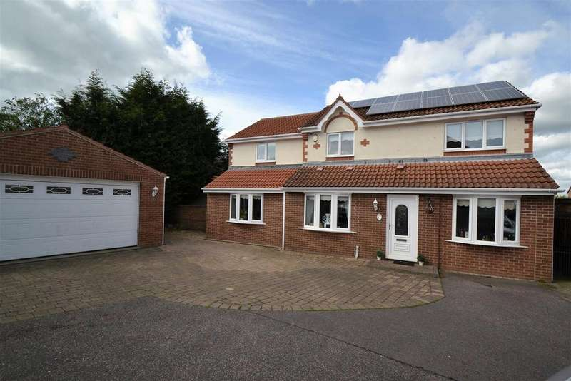 3 Bedrooms Detached House for sale in Fox Covert, Spennymoor