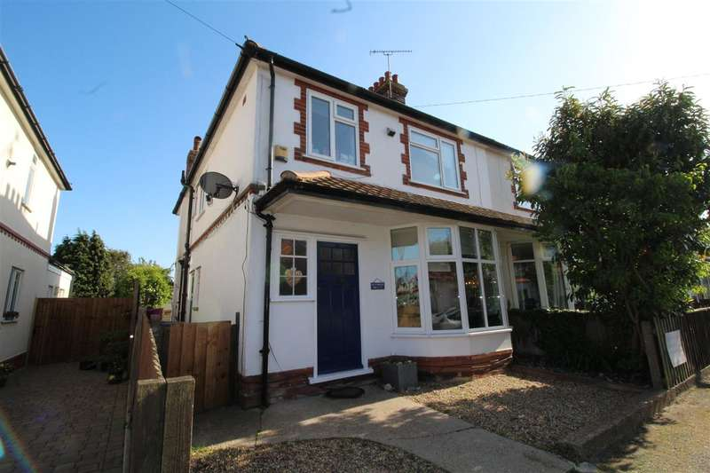 4 Bedrooms House for sale in Looe Road, Old Felixstowe - Four Bedroom Semi Detached House