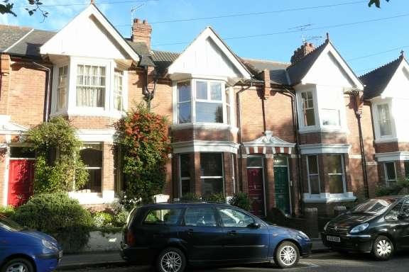 3 Bedrooms Terraced House for rent in 73 St. Leonards Road, St Leonards, Exeter, Devon, EX2 4LS