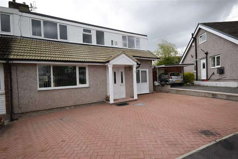 4 Bedrooms Semi Detached House for sale in Snell Grove, Colne, Lancashire