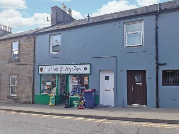3 Bedrooms Flat for sale in High Main Street, Dalmellington, Ayr
