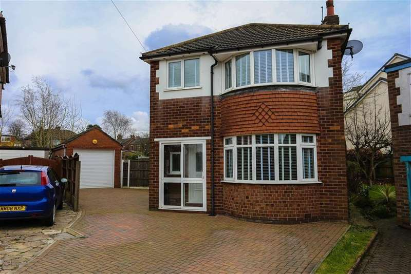 4 Bedrooms Detached House for sale in Norbury Avenue, Marple, Cheshire