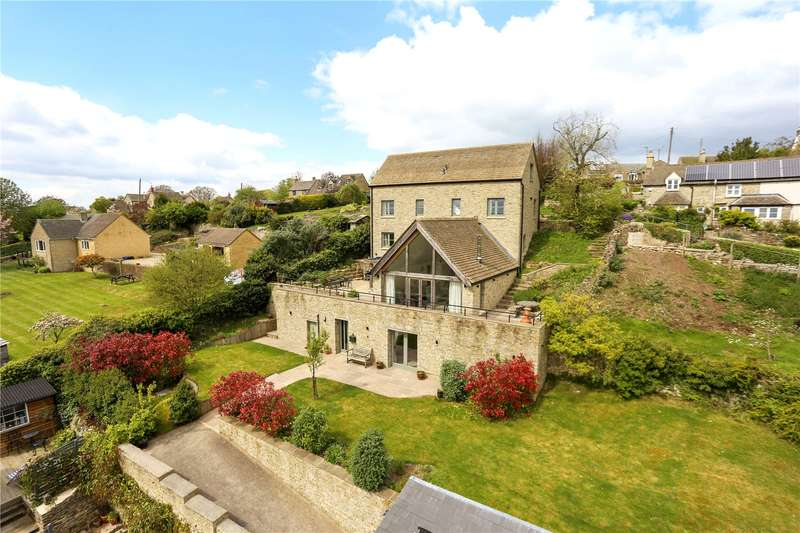 5 Bedrooms Detached House for sale in Oakridge Lynch, Stroud, Gloucestershire, GL6