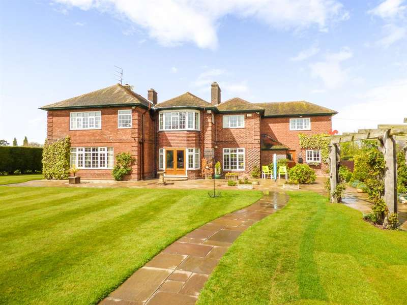 5 Bedrooms Detached House for sale in Kingsfield, Caistor Road, Laceby, Grimsby
