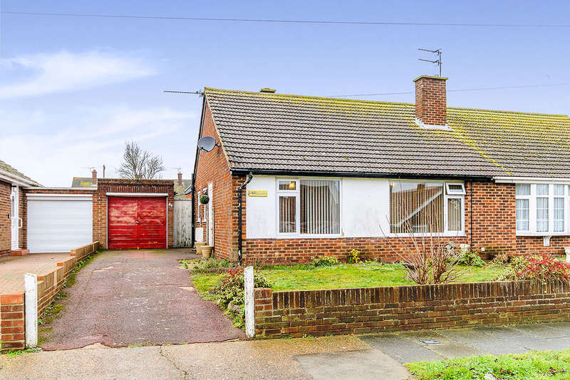 2 Bedrooms Semi Detached Bungalow for sale in Langdale Avenue, Ramsgate, CT11