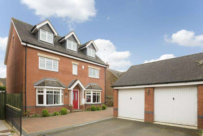 5 Bedrooms Detached House for sale in Griffin Close, Twyford, Banbury