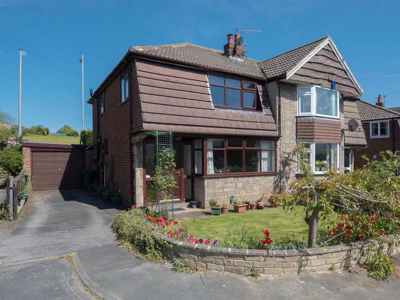 3 Bedrooms Semi Detached House for sale in Wrose Drive, Shipley, BD18 1AG