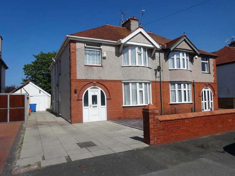 4 Bedrooms Semi Detached House for sale in Elm Grove, Rhyl