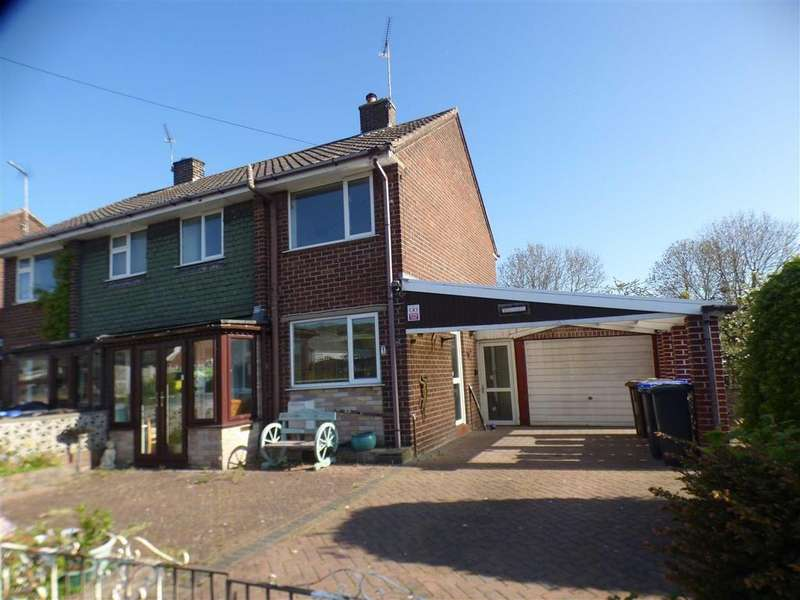 3 Bedrooms Semi Detached House for sale in 1, Masefield Close, Cheadle