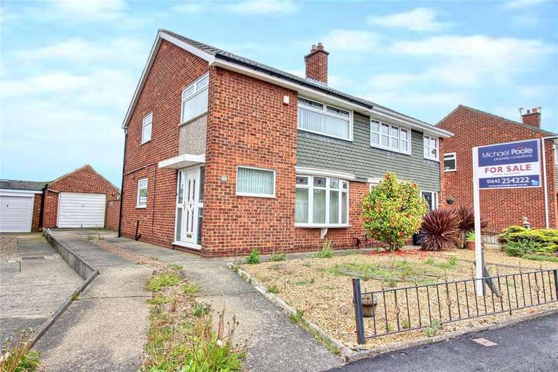 3 Bedrooms Semi Detached House for sale in Hesleden Avenue, Acklam