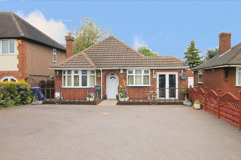 3 Bedrooms Detached Bungalow for sale in Glascote Road, Glascote, Tamworth, B77 2BT