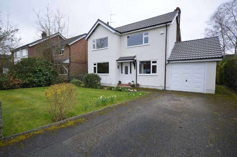 3 Bedrooms Detached House for sale in Exeter Close, Cheadle Hulme