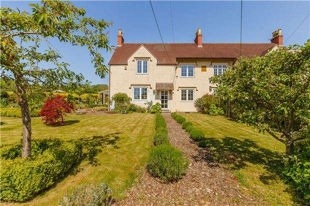 3 Bedrooms Semi Detached House for sale in Victoria Cottages, Bristol Road, Wraxall, North Somerset, BS48 1LN