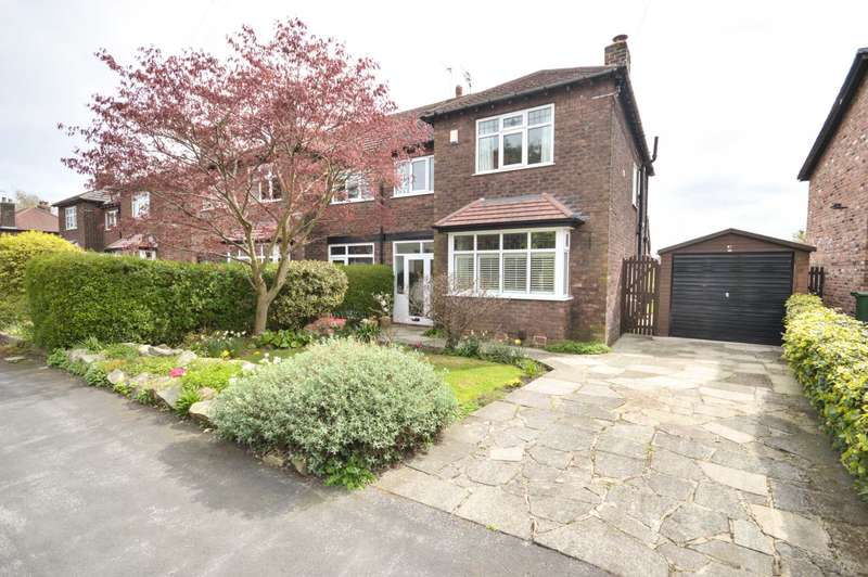 3 Bedrooms Semi Detached House for sale in KITTS MOSS LANE, Bramhall