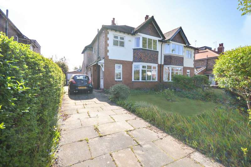 3 Bedrooms Semi Detached House for sale in NORTH PARK ROAD, Bramhall
