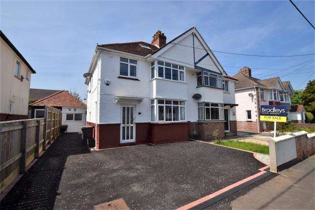 3 Bedrooms Semi Detached House for sale in Preston Down Avenue, Preston, Paignton, Devon