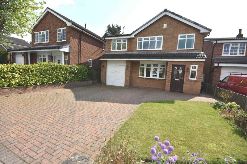 4 Bedrooms Detached House for sale in GAWSWORTH CLOSE, POYNTON