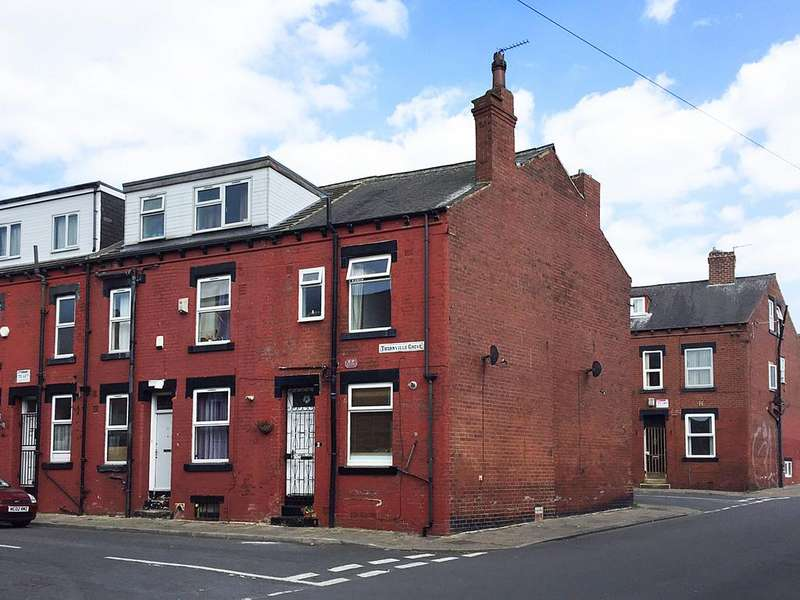 1 Bedroom End Of Terrace House for sale in Thornville Grove, Hyde Park, Leeds 6