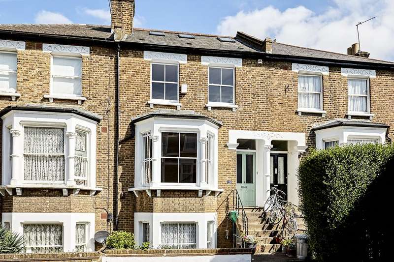 3 Bedrooms Maisonette Flat for sale in Brackenbury Gardens W6
